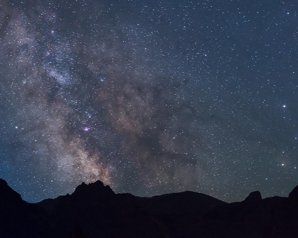 Montana vacation video night sky